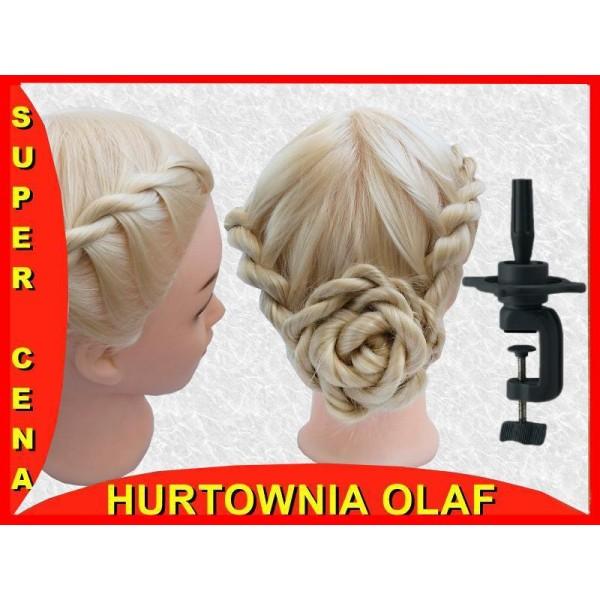 8f1ddbd460c63 Główka fryzjerska włos termiczny +statyw 80 cm - Hurtownia